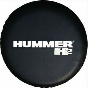Spare Wheel Tire Cover Fit For Hummer H2 Black Spare Tire Cover