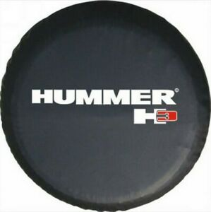 Spare Wheel Tire Cover Fit For Hummer H3 Black Spare Tire Cover