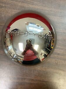 1940 Ford Deluxe Logo Stainless Baby Moon Hub Caps Wheel Cover Nors 421