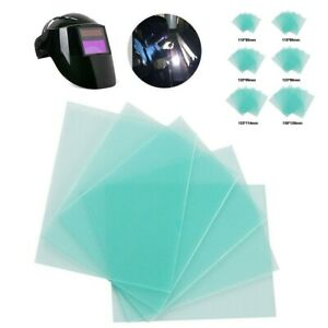 10 Packs Clear Pc Welding Protective Mask Lens Plate For Welding Helmet Replace