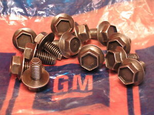 Gm Turbo 400 Th400 Automatic Transmission Original Factory 13 Pan Bolts Chevy