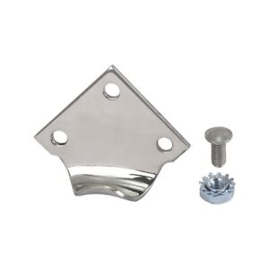 Model A Ford Hood Clip Bracket Polished Stainless Steel 28 21735 1