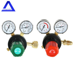 Oxygen And Acetylene Regulators Combo Welding Gauges V350 Series