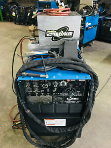 Miller Syncrowave 250 Tig Welder On Cart