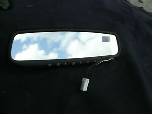 2001 2014 Subaru Legacy Forester Rear View Mirror Compass Homelink Dim Oem