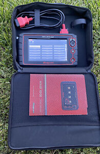 Snap On Solus Edge Eesc320 Diagnostic Scan Tool Vers 16 4 Used Excellent