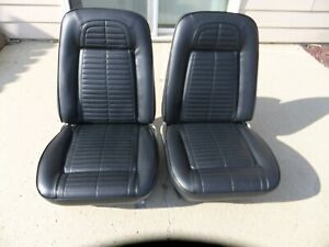 1967 1968 1969 Camaro Firebird 67 68 69 Seats New Foam panels covers Used Tracks