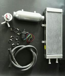 4 X 12 Water To Air Charge Cooler Intercooler Kit For Turbo And Supercharger
