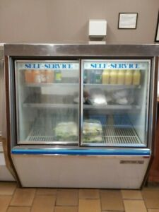 Beverage air Refrigerated Self Serve scd4 Case Pre owned Local Pickup Only