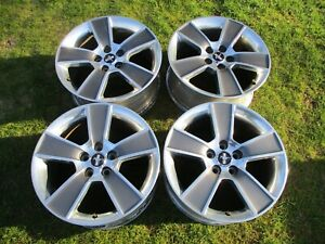 18 Ford Mustang Polished Charcoal Factory Oem Wheel Rim 2006 2018 3647
