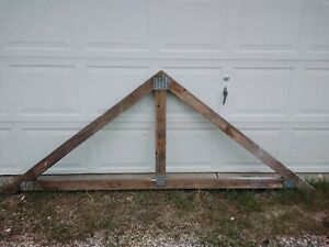 Seven 92 Inch Wide 39 Inches Tall Shed Dormer Trusses Pick Up Only