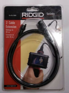 New Ridgid 3 foot Cable Extension For Seesnake Micro 26658 Nos 90cm Wiring
