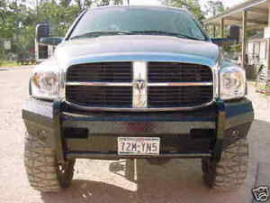 New Ranch Style Front Bumper 2006 2007 2008 2009 Dodge Ram 2500 3500