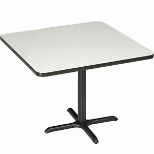 Square Counter Height Restaurant Table Gray 42 w X 36 h