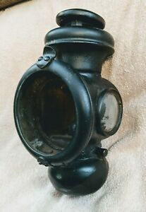 One Vintage Antique Ford Model T Oil Lamp Kerosene Lantern Tail Light