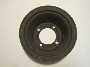 Amc 304 360 390 401 3 Groove Crankshaft And 3 Groove Water Pump Pulley Set