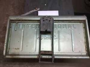 Vintage International Scout 800 Tailgate And Spare Tire Carrier 1968 1971