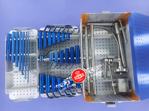 Mis Tubular Retractor Spine System Complete Set With Sterilize Box