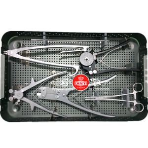 Posterior Cervical Fixation System Of Spine Orthopedic Surgery Instrument Set