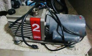 Edwards 2 Stage Rotary Vane Vacuum Pump 115 230 Vac Single Phase parts Only