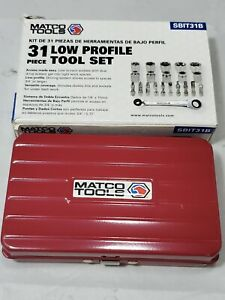 Matco Tools 31 Piece Sbit31b Low Profile Tool Set Wrench Ratcheting