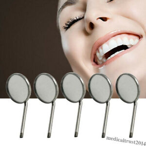 5pc Dental Oral Orthodontic Mouth Mirror Reflector Odontoscope Dentist Equipment