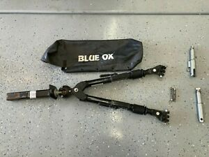 Blue Ox Bx7445 rb Tow Bar 2 Inch Receiver Mount With Safety Cables