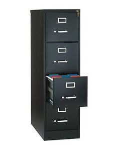 Metal File Cabinet 4 Drawer Vertical Office Furniture Local Pick Up Only Read