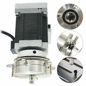 Strong Rotary Type Elastic Clamp D69 L Type Rotary Axis Mini Engraving Machine