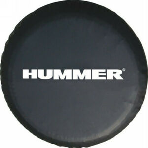 Spare Wheel Tire Cover Fit For Hummer Black Spare Tire Cover