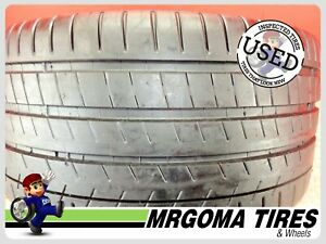 1 Michelin Pilot Super Sport Zp Rft 285 30 20 Used Tire 96 rmng No Patch 2853020