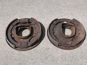 1940 s Ford Hydraulic Juice Backing Plate With Hardware Grease Cups Rear 2