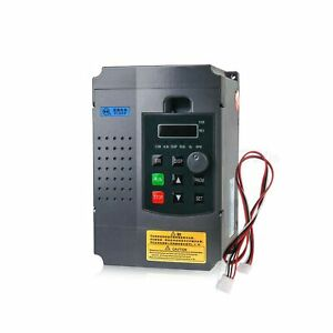 2 2kw Vfd Variable Frequency Drive 3hp Vfd 10a Inverter Converter For Cnc S