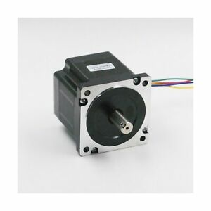 Nema 34 Stepper Motor 5 5a 4 5nm 640 Oz in 80mm Length For Cnc Router Mill