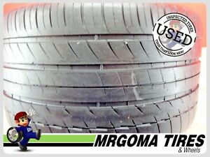 1 Michelin Pilot Sport N2 Xl 305 30 19 Used Tire 74 Rmng 102y No Patch 3053019