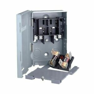 Ideal air 728162 Electrical Disconnect Box 30 Amp Fuseable