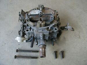 Buick 1970 Riviera 455 Rochester Quadrajet Carburetor 7040247 La Dated 3189