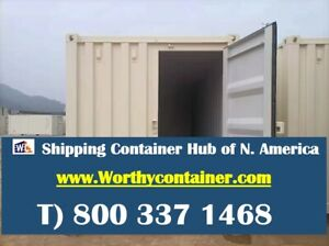 Tri Door 3d 40 hc New One Trip Shipping Container In Louisville Ky