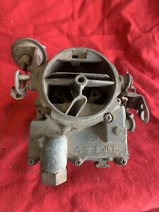 Gm 2 Jet Rochester 2 Barrel Carb Carburetor 2gv 7044123 Chevrolet