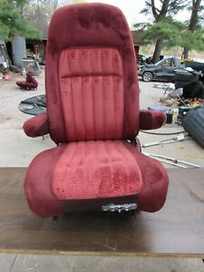 88 94 Chevy Silverado Suburban Tahoe Gmc Sierra Yukon Red Lh Power Bucket Seat