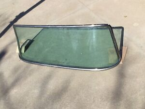 1961 1966 Ford Custom Cab Pickup Truck Windshield And Stainless Trim Original
