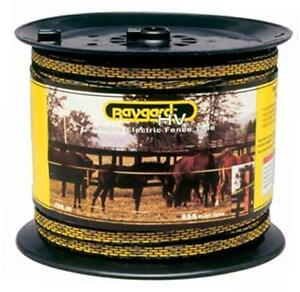 Electric Fence Yellow black Tape 00129 656 Feet