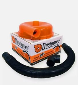 Dustopper High Efficiency Dust Separator Cyclonic Plastic Patent pending Chamber