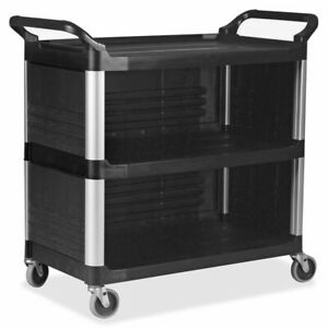 Rubbermaid Commercial Utility Cart 409300bk 409300bk 1 Each