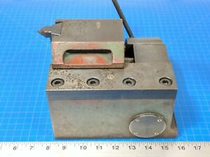 Rotary Table Tailstock Footstock Center Head Cnc Nikken Adjustable Indexing