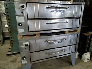 Bakers Pride Model 3152 Stubby Series Double Nat Gas Ovens 33 Shallow Depth