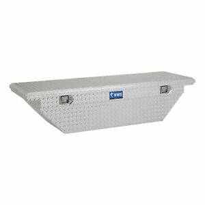 Uws Bright Aluminum 60 Angled Truck Tool Box With Low Profile ltl Shipping Onl