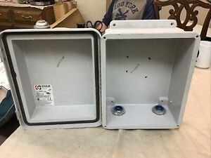 Stahlin Enclosure rj1412hpl Open Box Never Installed W Elect Fittings b83