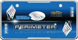 Perimeter Chrome License Plate Frame Free Screw Caps With This Frame