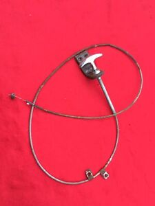 1949 1950 1951 Chrysler Dodge Desoto Plymouth Hood Release Cable